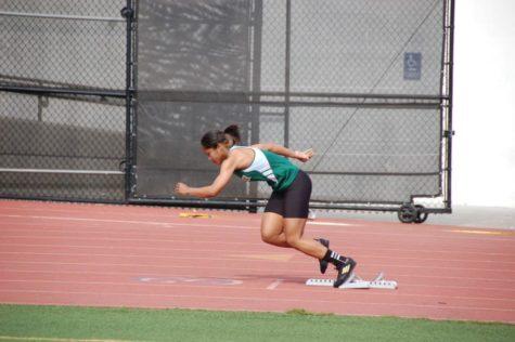 Varsity Track Sprints Ahead