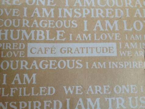 Restaurant Review: Cafe Gratitude