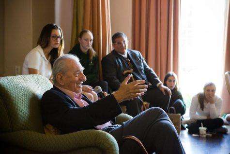 Nobel Laureate George Olah Speaks to Archer Community