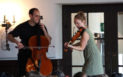 Hanneke Cassel and Mike Block perform, teach at Archer