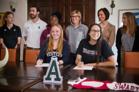 O'Connor, Namazie Sign With Colleges On National Signing Day