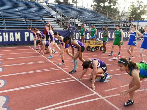 Varsity track starts season
