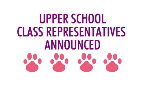 2015-2016 Upper School Class Representatives Announced
