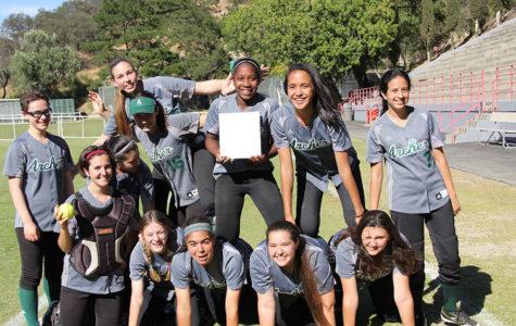 Varsity softball wins league championship, qualifies for CIFSS playoffs