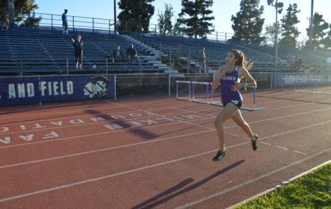 Track leaps, races into record books