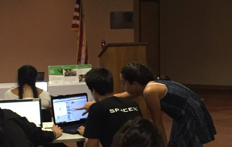 Middle school STEM students develop apps, teach skills