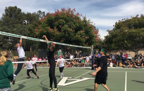 Salsa Verde kills second annual student, teacher volleyball game