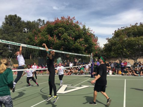 Salsa Verde kills second annual student, teacher volleyball game