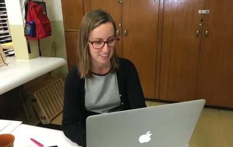 New teaching fellow Allison Kays finds Archer girls 'phenomenal'