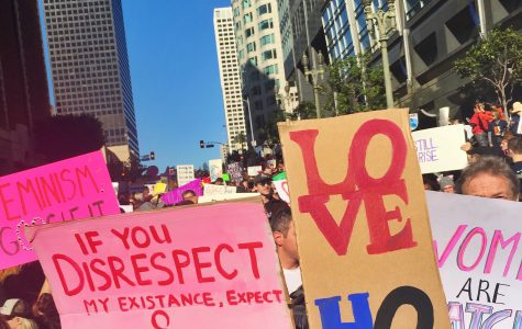 The Present is Female: thoughts from the Los Angeles Women's March