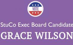 Meet the Candidate: Grace Wilson '20