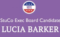 Meet the Candidate: Lucia Barker '18