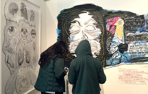 Sarah Walston, Mari Goldberg use senior showcases as opportunity to prompt dialogue
