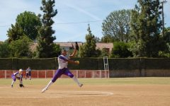 Varsity softball pitcher Kamryn Bellamy breaks career strikeout record
