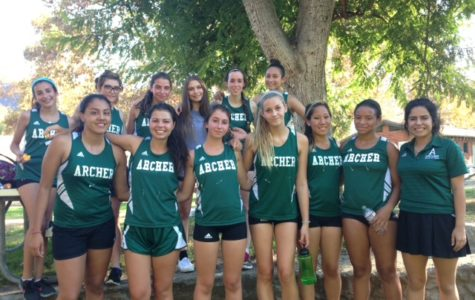 Varsity Cross Country train for the Switchbacks