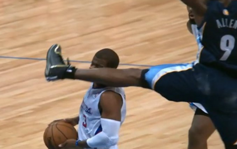 Tony Allen kicked out of game