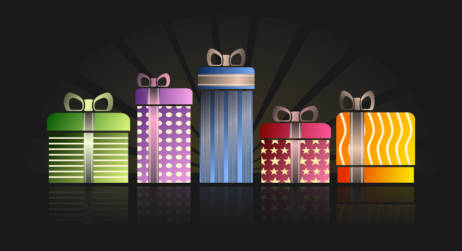 Colorful presents waiting to be opened! Image Free for public sharing.