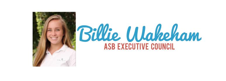 Meet the Candidate: Billie Wakeham '17