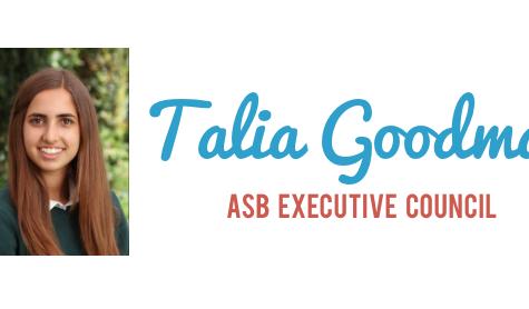 Meet the Candidate: Talia Goodman '17