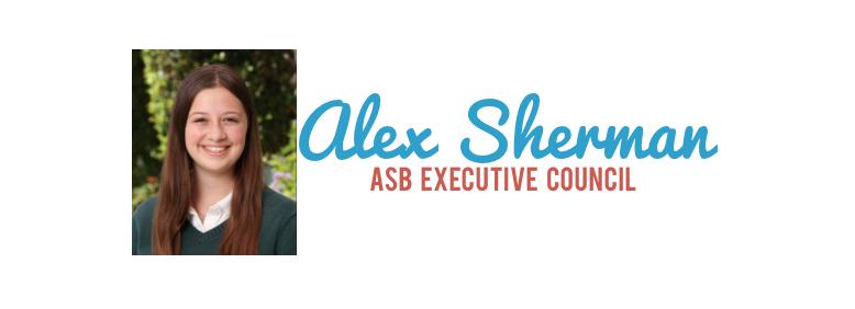 Meet the Candidate: Alex Sherman '17