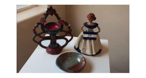 Advanced Ceramics students present work in gallery