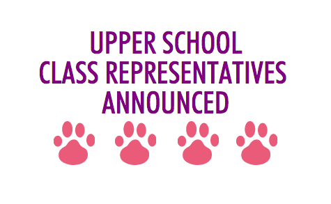 2015-2016 Upper School Class Representatives Announced