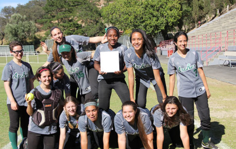 Varsity softball wins league championship, qualifies for CIFSS playoffs