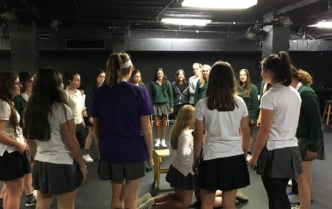 Students prepare for first all-female production of 'Spring Awakening'