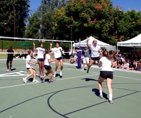 Student council increases school spirit with students versus faculty volleyball game