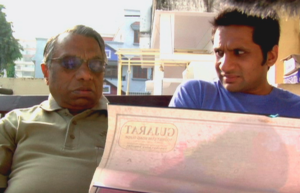 Ravi's father explains to him which area of India to find a wife with the last name Patel. It is a tradition in Ravi's family to marry someone with the same last name. Source: Meet the Patels Website