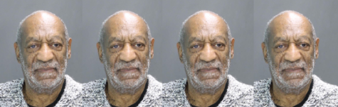 Bill Cosby poses for his mugshot. He was arrested and charged in Pennsylvania on Dec. 30, 2015 for aggravated indecent assault. Photo illustration by Isabelle Kantz using Cosby's mug shot on the <a href=