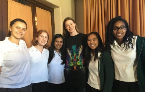Australian Supermodel Robyn Lawley teaches self-love to Archer community