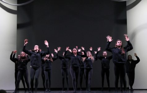 Dance Performance Company 2 performed a dance based on the Black Lives Matter movement. This move in particular pays tribute to the phrase