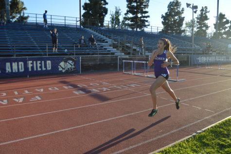 Track leaps, races into record books