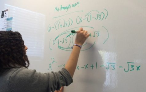 Iman Mohammed '18 discovers new approach to mathematics