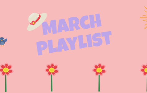 March Playlist: put some spring in your step