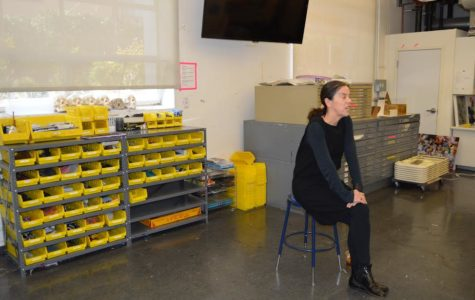 Chief Curator at Hammer Museum visits Archer, offers career advice