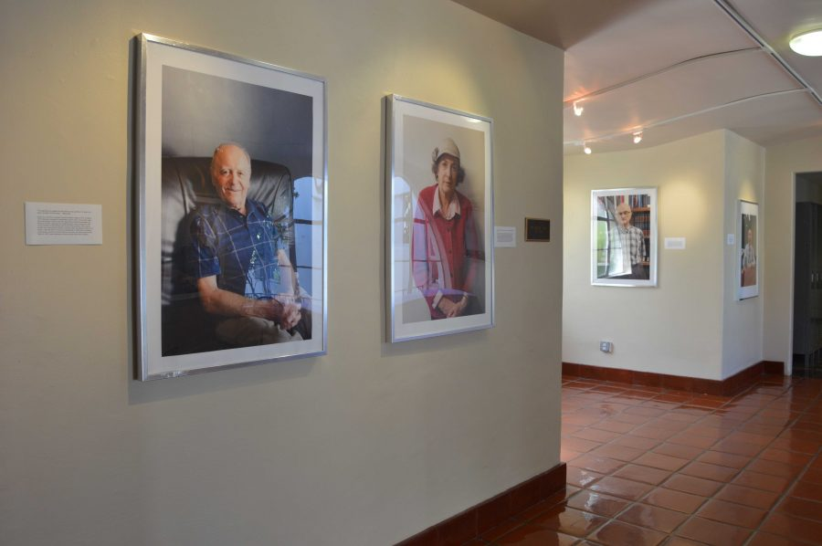 Lindsay Cayton '16 displayed her photography in early March. The work was based on her interest in her grandfather's survival of the Holocaust.