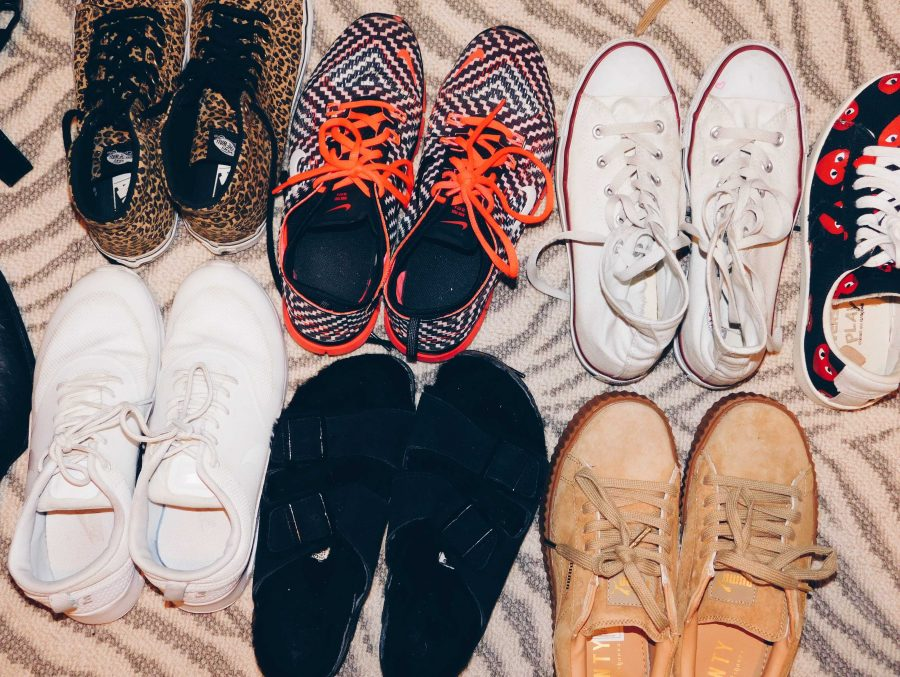 Although students wear uniforms, Archer teachers and students expressed their belief that shoes and smaller accessories can convey socioeconomic status. Photographer: Ella Tollman'19