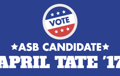 Meet the Candidate: April Tate '17