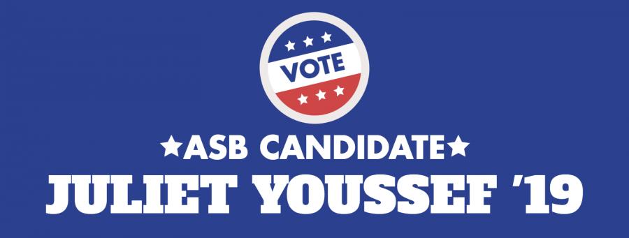 Meet the Candidate: Juliet Youssef '19