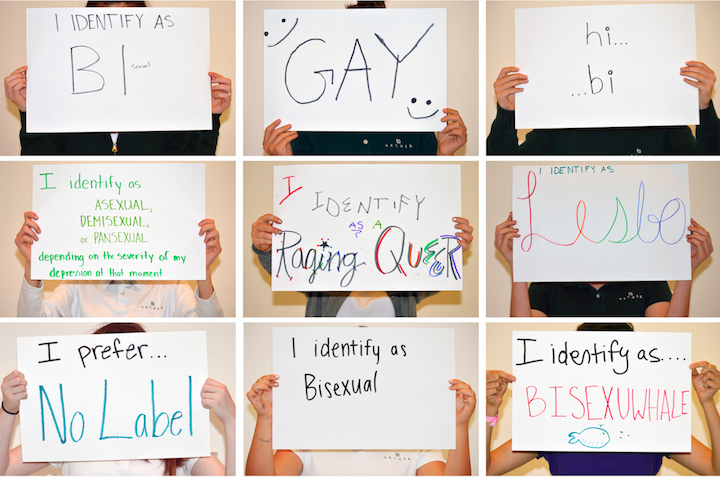 A collage of photos by Aviva Intveld '19 for her photography project on LGBTQ+ rights in the Archer community. Even though this was three years ago, Intveld said it is still a very meaningful project to her. Photo courtesy of Intveld.