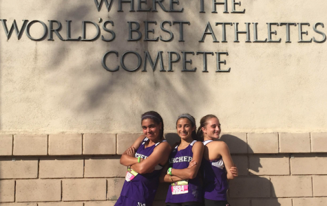 Q&A with 2016-2017 varsity cross country captains: Leyla Namazie, Rachel Pike, Kaia Turowski