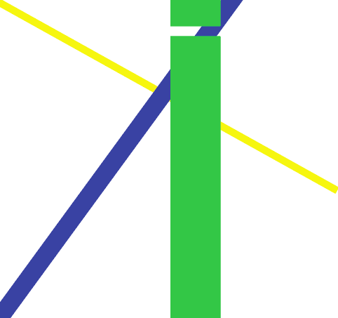 In this image the yellow and blue lines indicate the hegemony of powerful countries/regimes over weaker ones; indicated by the width of the lines. The larger green line is representative of the progress that could be made in the name of diplomacy by either regime. However, this progress (the green line) is stunted by the intolerance of the blue line(powerful regimes). The green line will never be whole until the blue and yellow ones cooperate with one another.   Graphic illustration by Ciel Torres '17
