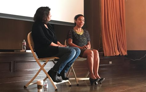 Activist, survivor present about human trafficking