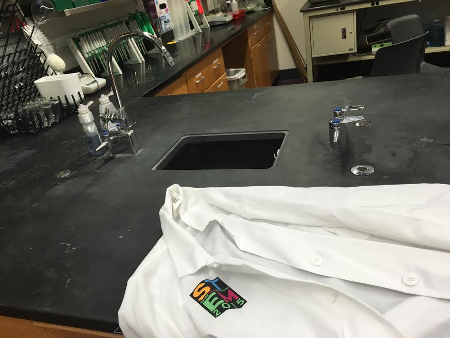 These lab coats are a staple of Archer's science classrooms and were introduced for the 2015 STEM Symposium.  Focus on STEM-centered education  can often leave students interested in other disciplines feeling overlooked.