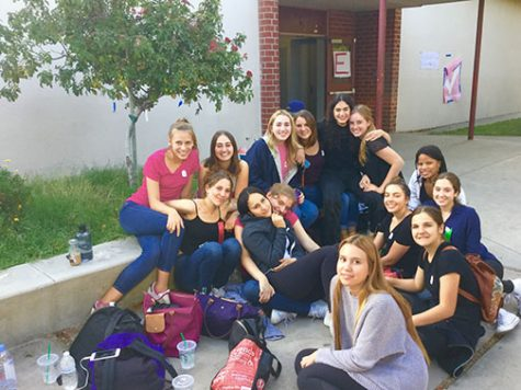 Advanced drama students compete in DTASC Fall Festival