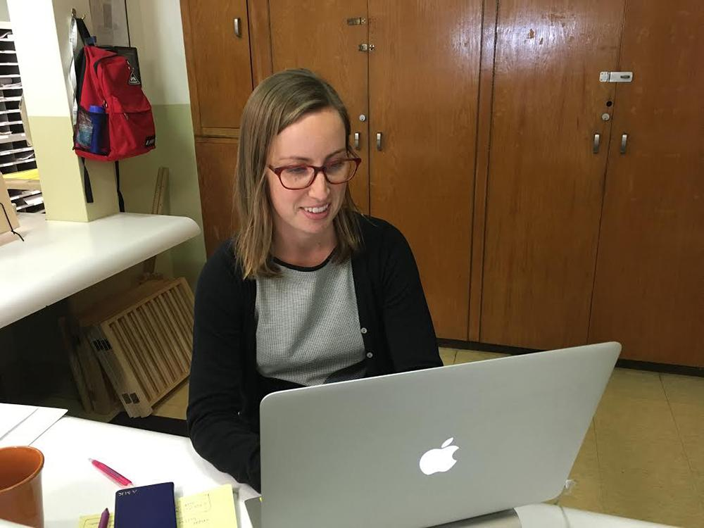 Allison Kays is the new teaching fellow at Archer. She took a break from getting her PhD to teach at Archer.