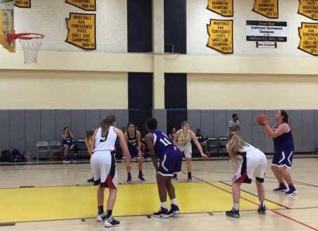 Josie Garcia-Euyoque '18 shoots a free throw against Mt. Baker. Archer played three games in the Cactus Jam Tournament.