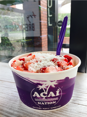 Acai Nation serves delicious bowls, offers unique ingredients
